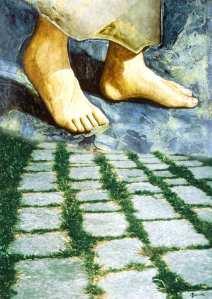Dipinto piedi